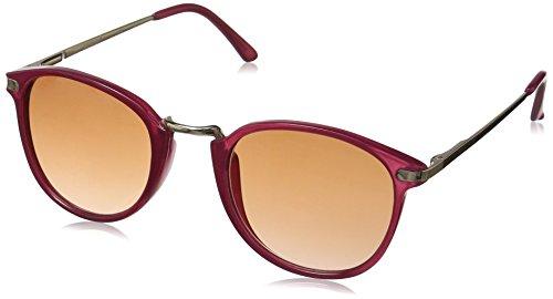 A.J. Morgan Castro Round Sunglasses Hot Pink