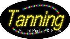Tanning Flashing & Animated LED Sign (High Impact, Energy Efficient)