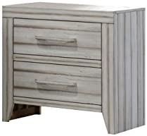 ACME Shayla Antique White Nightstand