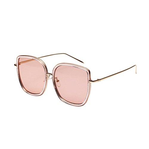 Limsea Hot Sale! Fashion Integrated UV Glasses Neutral Large Frame Side Shades Sunglasses (Around Wrap Dragon Sunglasses)