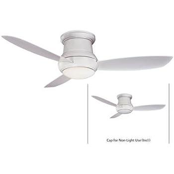 Minka Lavery F474 Wh Flush Mount Ceiling Fan Minka Aire