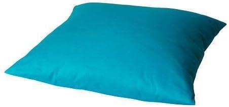 Ikea Coussin De Canape Grenat Oreiller 50x50 Cm Taies D Oreiller Lavable En Machine Turquoise Amazon Fr Cuisine Maison