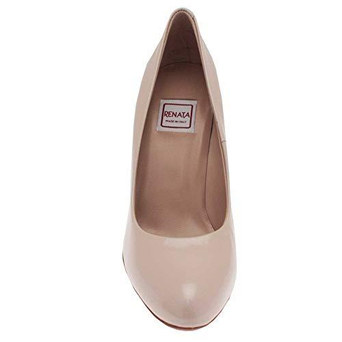 Patent Renata De Vestir Crudo Para Mujer Zapatos nude 0H0Tp