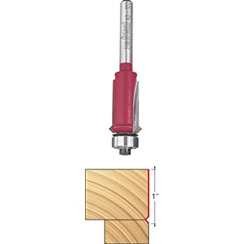 Freud 48-102 5/8-Inch Flush Trim and V Groove Router Bit with 1/4-Inch Shank