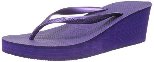 Havaianas Women's High Fashion Flip Flop, Dark Purple, 39 BR/9/10 M US