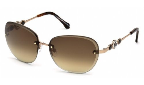 Amazon.com: Roberto Cavalli RC783S anteojos de sol color 34 ...