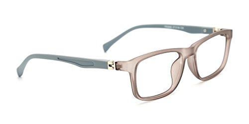 TIJN Kids Flex Rectangle Eyeglasses Frame for Boys - Kids Cheap Eyeglasses