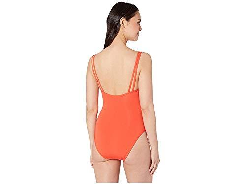 JETS SWIMWEAR AUSTRALIA Womens Jetset Double Strap One-Piece Swimsuit Tangelo 6