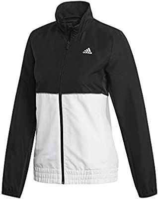 adidas W Club TS Chándal de Tenis, Mujer, Negro/Blanco, XL: Amazon ...