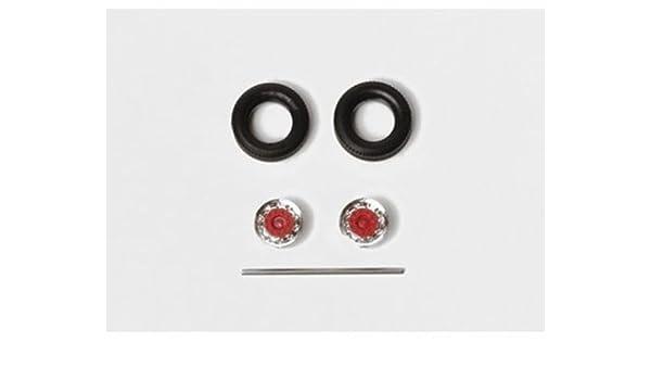 cromo//rojo, 9 sets nuevo Herpa 052016 neumáticos para hummer//colgadores embalaje original