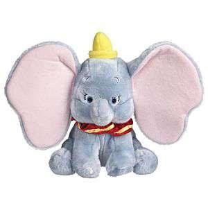 Disney - Peluche di Dumbo in cotone felpato