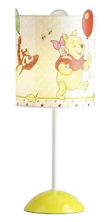 Disney WPF0002EU - Lámpara infantil LED para mesilla de noche, diseño de Winnie the Pooh