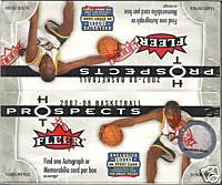 08 Fleer Hot Prospects Basketball - 2