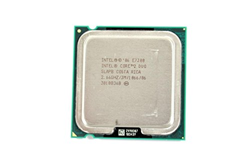 Intel Core 2 Duo CPU Wolfdale E7300 2.66GHz/3M/1066 LGA775 D306F
