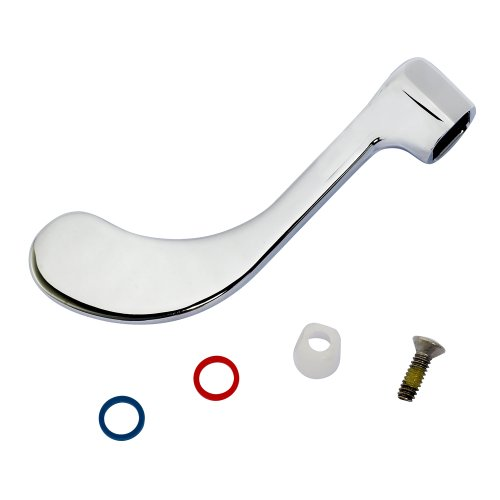 American Standard 051217-0020A Wrist Blade Handle, Polished Chrome ()