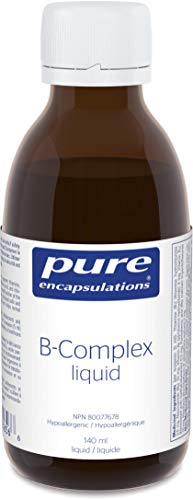 Pure Encapsulations – B-Complex Liquid – B Vitamins to Support Energy Metabolism and a Healthy Nervous System – 4.73 fl. oz.