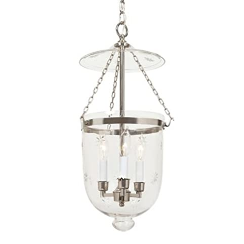 Jvi designs 1013 15 three light large bell jar pendant polished jvi designs 1013 15 three light large bell jar pendant polished nickel finish with aloadofball Image collections