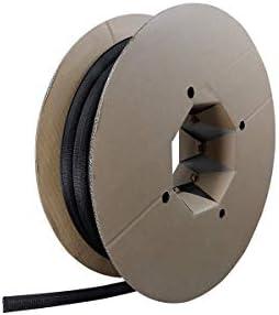 zuschneidbar ohne Ausfransen sehr Flexibel und robust 25 m Selbstschlie/ßend Label-the-cable Kabelschlauch // Kabelschutz // Kabelkanal: Gewebter Kabelmantel Wei/ß PRO 5120 LTC CABLE TUBE