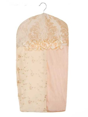 Ribbons & Roses Diaper Stacker by Glenna Jean