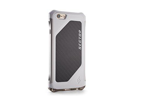 - Element Case Sector Snow Silver Rails Case for iPhone 6 - White EMT-0023