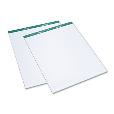 Ampad 24034 Flip Charts, 1 Ruled, 27 x 34, White, 50 Sheets (Pack of 2)