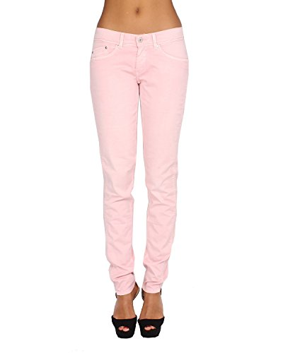 Pepe Jeans - Women's Jeans NEWPIXIE 325 - Slim - Skinny - Stretch - Pink, W31 / L32 (Pepe Jeans Brillen)