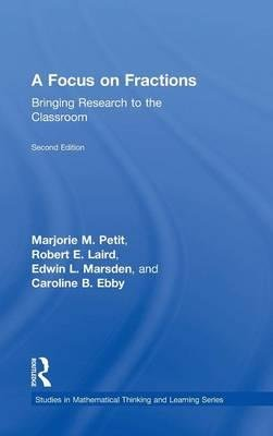 Download A Focus on Fractions : Bringing Research to the Classroom(Hardback) - 2015 Edition pdf