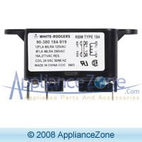 White Rodgers 90-370 Fan Relay Rbm Type 184 Heavy-duty (Rbm Relay)