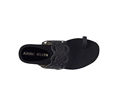 Anne Klein Imma Slide Sandalen Zwart