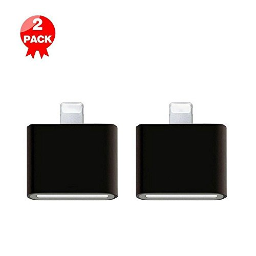 Lightning to 30 Pin Converter,2 Pack of Coursin 8-Pin to 30-Pin Charging Adapter for iPhone 7, 7 Plus, 6S, 6S Plus, 5S, 5C, iPad (30 Pin Dock)