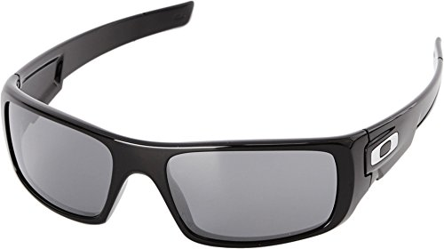 Oakley Men's Crankshaft Rectangular Eyeglasses, Polished Black/Black Iridium, 60 - Prescription Oakley Sunglasses