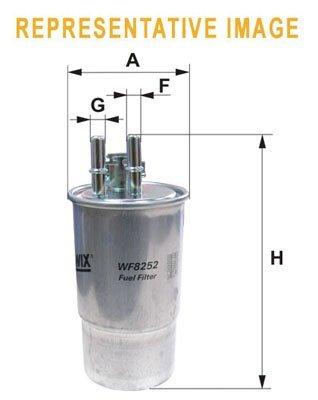 WIX FILTERS WIXFILTERS WF8455 Fuel Injectors: