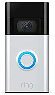 Ring Video Doorbell – newest generation, 2020 release – 1080p HD video, improved motion detection, easy instal