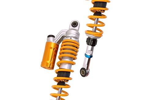 WildBee 320mm 12.5 Pollice Universale Ammortizzatori Sospensione Posteriore Compatibile con Maggior Parte ATV Go Kart Quad Motocicletta Nero Oro