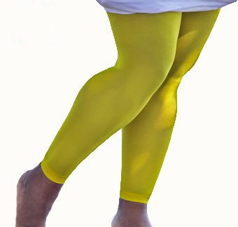Yellow Leggings Plus Size