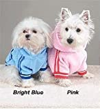 PINK - SMALL - Sporty Fleece Pullover - DOGGY SPORTS SWEATSHIRT