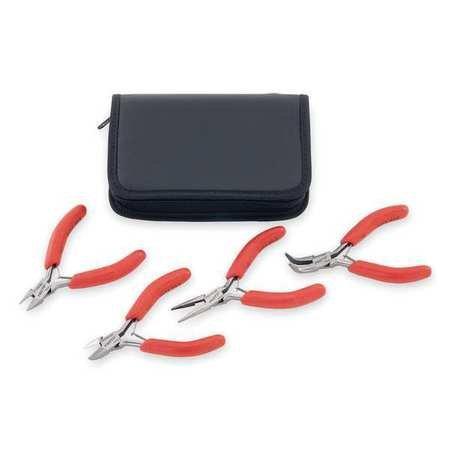 Stanley Proto J2804SMP 4-piece Miniature Pliers Set (Miniature Electro)
