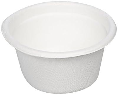 AmazonBasics 2 oz Compostable Sample Food Cups, 2,000-Count