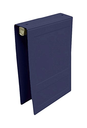 PDC Healthcare CBT8NB Poly Binder, Top Open, 3-Ring,Patient Record, 1.5'', Navy Blue