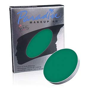 Paradise Face Paints - Dark Green DGR (0.25 oz/7 gm) Mehron DD518
