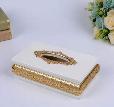Haga Napkin Holder Wood luxurious hollow wood tissue, used for sale  Delivered anywhere in USA