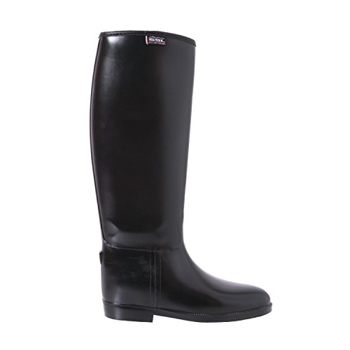 boot Riding Rubber Black Childrens Long Shires FIxtqf5wnF