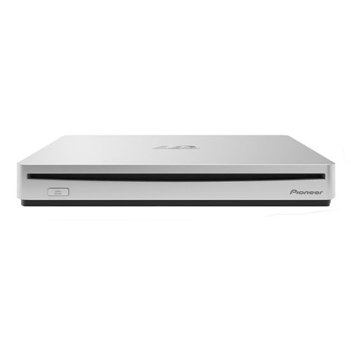 Pioneer BDR-XS06 External Blu-ray Writer - Silver - BD-R/RE Support - 24x CD Read/24x CD Write/24x CD Rewrite - 6x BD Read/6x BD Write/2x BD Rewrite - 8x DVD Read/8x DVD Write/8x DVD Rewrite - Quad-layer Media Supported - USB 3.0 277903150