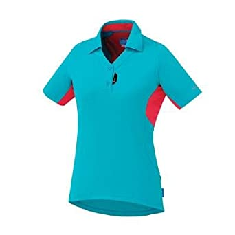 5ed1be45 Image Unavailable. Image not available for. Color: Shimano Women's Polo  Shirt Emerald Green-X-Large