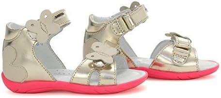 Bartek Baby Girls Leather High Sandals 51569//CR9 Golden Pink Infant//Toddler