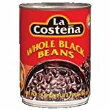 La Costena Whole Black Beans 19.75 Oz (Pack of 6)