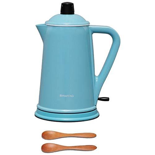 전기 주전자(케틀.kettle) 「HashTAG(해쉬 태그) Electric kettle」(0.8L) HT-DK11-AG 《앗슈구린》 【빅 카메라 그룹 오리지날】