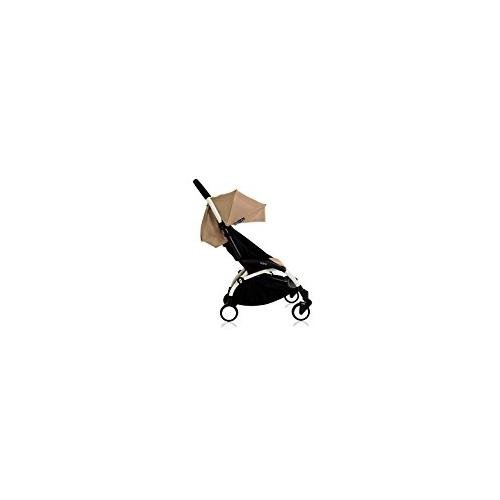 Babyzen YOYO+ Stroller, White/Taupe by Baby Zen (Image #1)