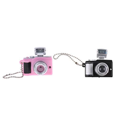 Brosco 1/12 Dollhouse Miniature Items 2pcs SLR Camera Living Room Furniture Decor
