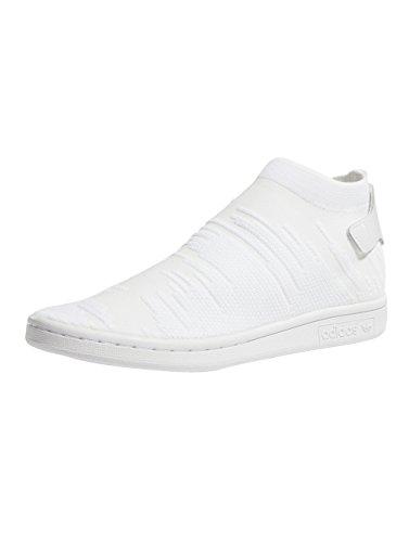 adidas Stan Smith Sock PK W, Zapatillas de Deporte para Mujer Blanco (Ftwbla 000)